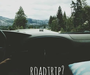 car, nowhere, and roadtrip image