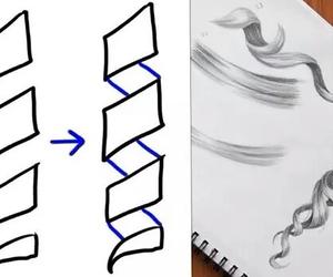 drawing, art, and diy image