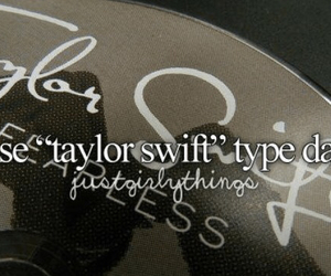 Taylor Swift, music, and justgirlythings image