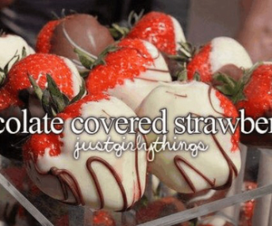 chocolate, strawberry, and just girly things image