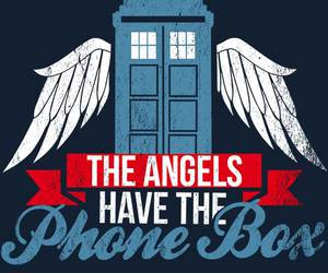 doctor who, the doctor, and weeping angels image