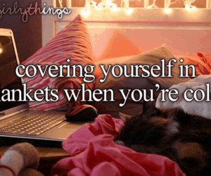 bed, computer, and just girly things image