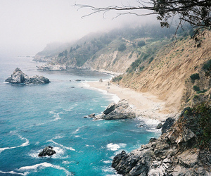 beach, ocean, and nature image