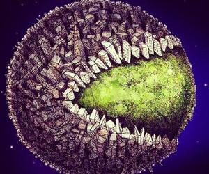 save the earth and sad reality image