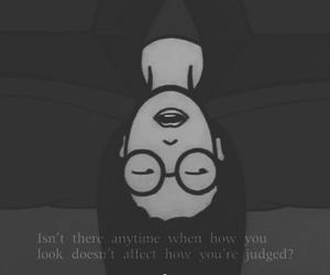 alien, black and white, and Daria image