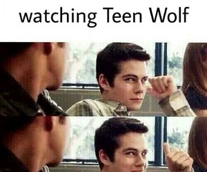 me, teen wolf, and true image