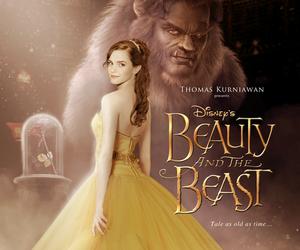 emma watson, beauty and the beast, and disney image