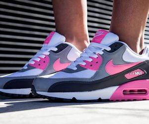 nike, air max, and pink image