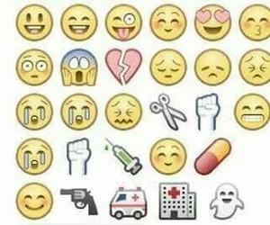 drug, gun, and emoji image