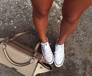 converse, fashion, and bag image