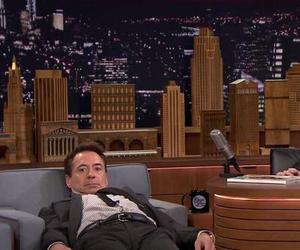 funny, jimmy fallon, and robert downey jr image