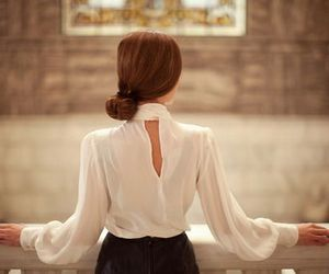 fashion, hair, and classy image