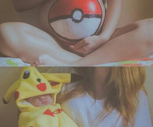 baby, pregnant, and pokemon image