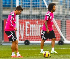 football, real madrid, and marcelo image