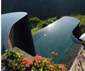 pool, bali, and luxury image