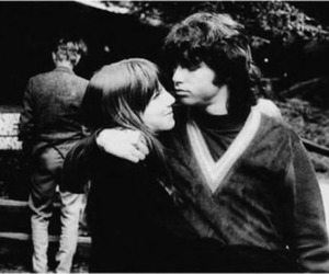 Jim Morrison, the doors, and pamela courson image