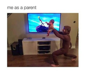 baby, lion king, and costume image