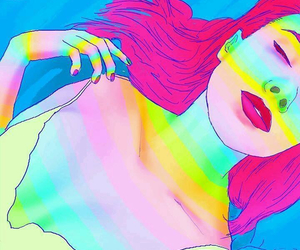 gif, colors, and art image