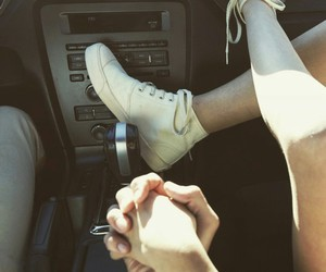car, couple, and Relationship image