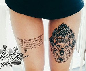 leg, tattoo, and Tattoos image
