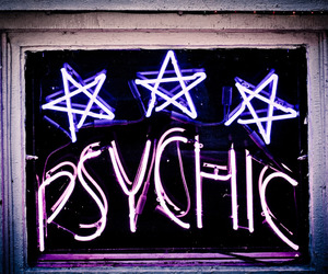 psychic, grunge, and neon image