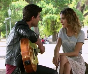 diego, violetta, and martina stoessel image