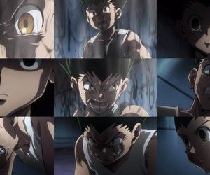 hunter x hunter 2011 and gon emotion image