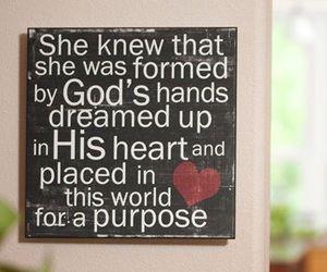 god, love, and purpose image