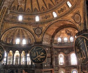 islam, turkey, and ayasofya image