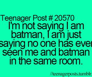 batman, funny, and teenager post image