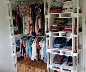 closet, diy, and clothes image