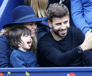 baby, milan pique, and Barcelona image
