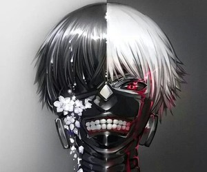 anime, ghoul, and ken image