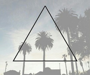 summer, grunge, and triangle image