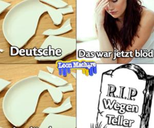 auslander, deutsch, and funny image