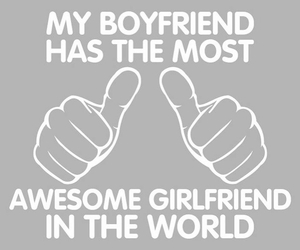 boyfriend, girlfriend, and awesome image