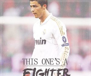 fighter, real madrid, and cristiano ronaldo image