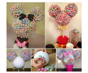 decor, diy, and lollipops image