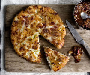 chic, food, and pizza image