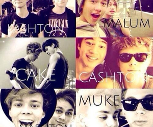 cake, nike, and 5 seconds of summer image