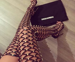 Dsquared2, high heels, and fashion image