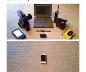 camera, phone, and computer image