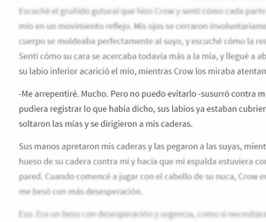 crow, wattpad, and frases image