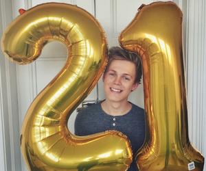 caspar lee, 21, and birthday image