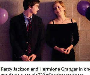 hermione granger and percy jackson image