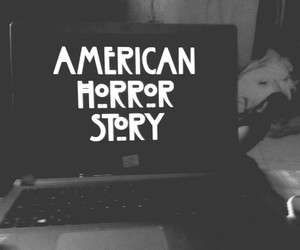 american, serie, and horror image