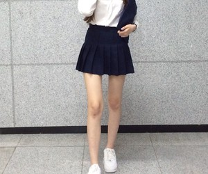 skirt, clothes, and pale image