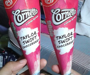 delicious, taylorswift, and icecream image