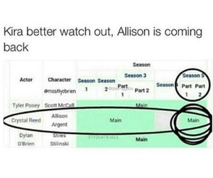 teen wolf, alison, and season 5 image