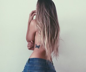 blonde, body, and thin image